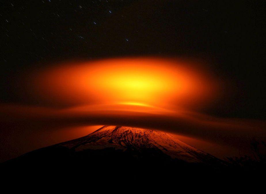 Chili : les couleurs ardentes du volcan Villarrica