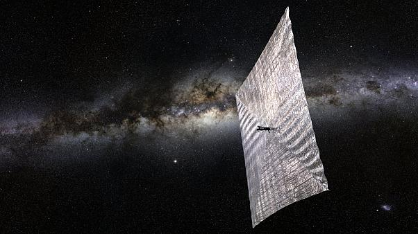 Solar sail tests Sagan's dream of flying with Sun's photons