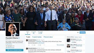 Twitter trailblazer Barack Obama smashes world record