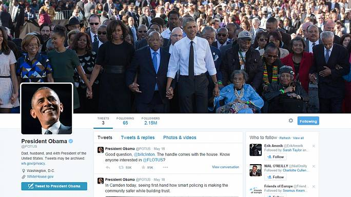 Twitter trailblazer Barack Obama smashes world record