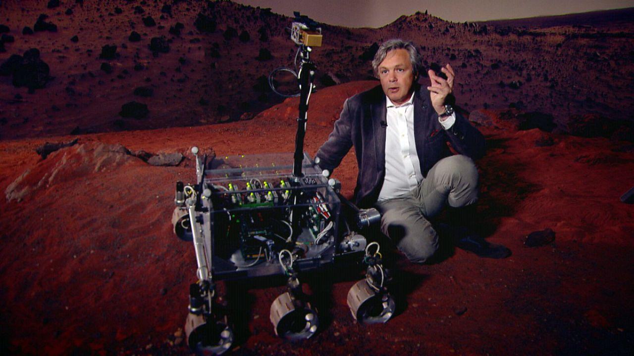 En busca de vestigios de vida en Marte