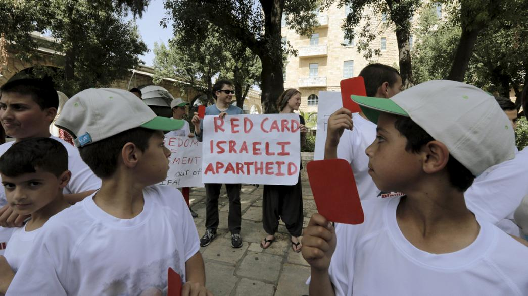 Les Palestiniens veulent obtenir la suspension d'Israël par la FIFA