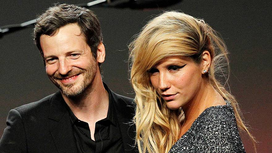 Image:  Dr. Luke accepts the Songwriter of the Year award at the 28th annua