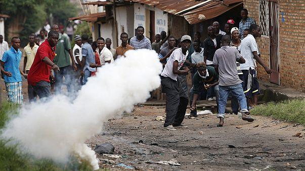 Burundi'de sokaklar savaş alanı