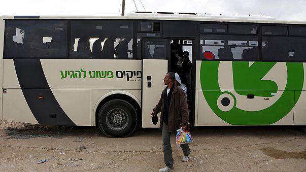 Tambores de apartheid en los autobuses de Cisjordania