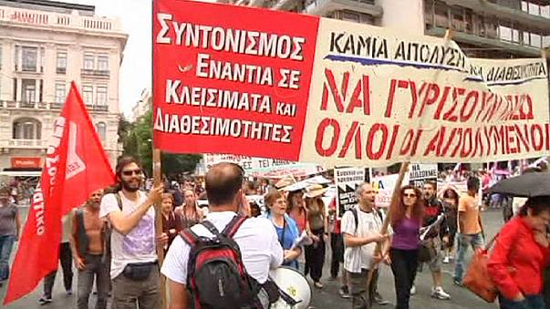 Greek health workers go on strike as anger boils over 'under-funding'