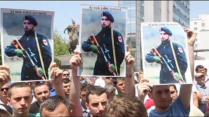 Косово: акция в поддержку задержанных в Македонии
