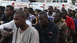 Libya'daki Afrikalı göçmenler Avrupa'ya ulaşma hayaliyle hayata tutunmaya çalışıyor