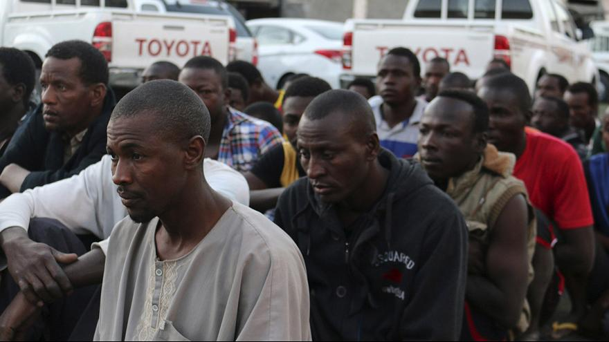 Migrant held in Libya 'beaten' and 'insulted'