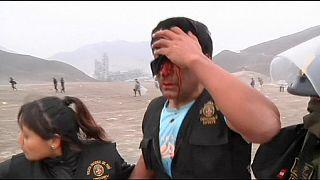Перу: конкистадоры из полиции и инки - сквоттеры