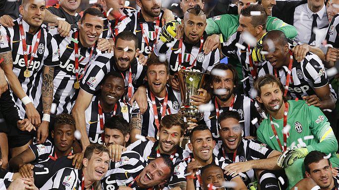 Juventus sezonu çifte kupayla kapattı!