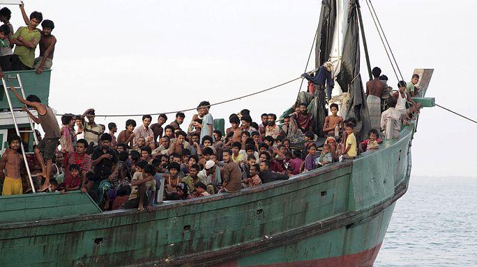 Nem enyhül a menekültáradat Délkelet-Ázsia partjainál