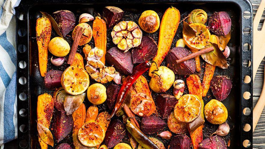 Image: Roasted vegetables