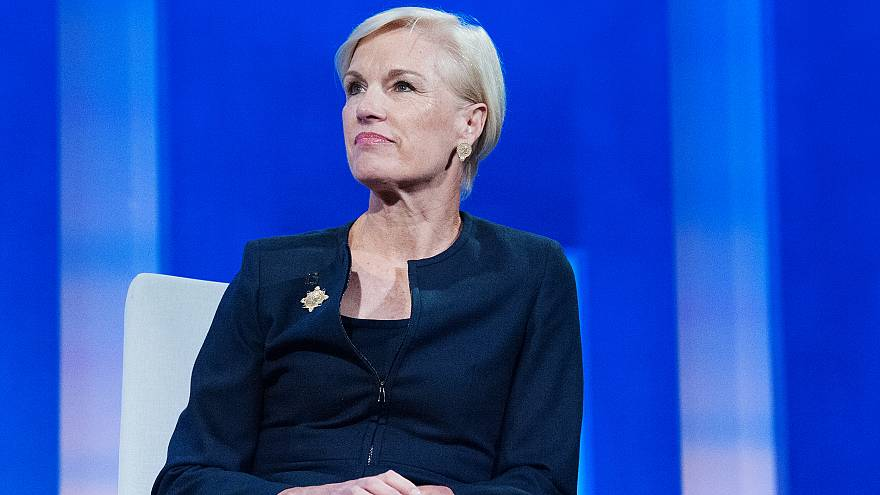 Image: Cecile Richards  participates in a panel discussion during the annua
