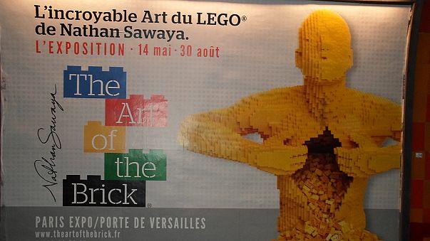 LEGO-Menschen und Kunst nicht nur für Kids in Paris