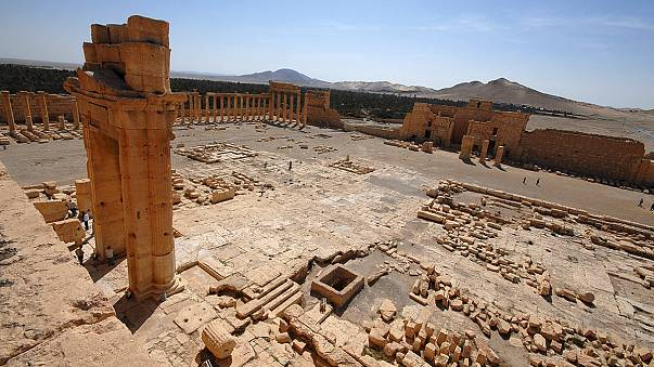 IS-Miliz-Vormarsch in Syrien: Sorge um Zivilisten und Kulturgüter in Palmyra wächst