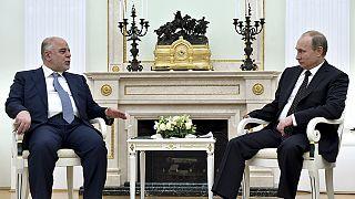 نخست وزیر عراق برای جلب حمایت روسیه علیه داعش وارد مسکو شد