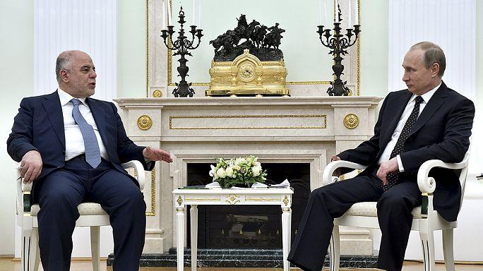Irak IŞİD'e karşı Moskova'dan yardım istedi