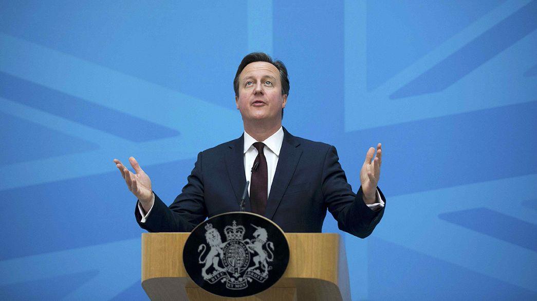 Weniger Menschen sollen künftig nach Großbritannien einwandern.