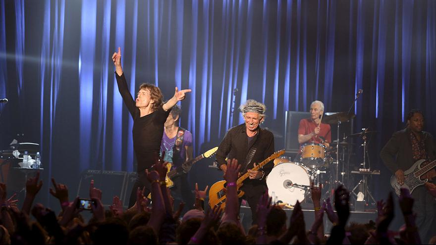 Concert surprise des Rolling Stones à Los Angeles