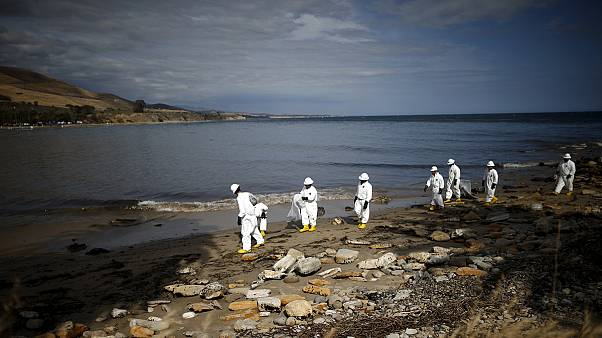 "Coastguards say Santa Barbara oil cleanup could take ""months"""