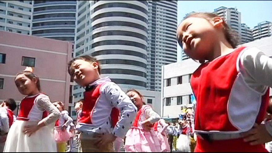 La Corée du Nord célèbre la santé des enfants