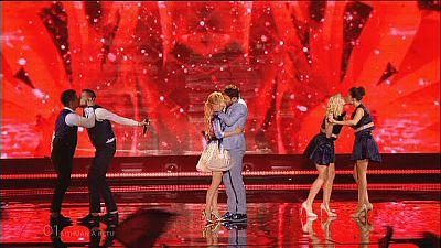 Os países apurados na segunda semifinal do Festival Eurovisão