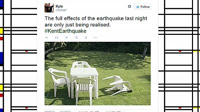 UK struck by 4.2 earthquake unleashing flood of Twitter jokes