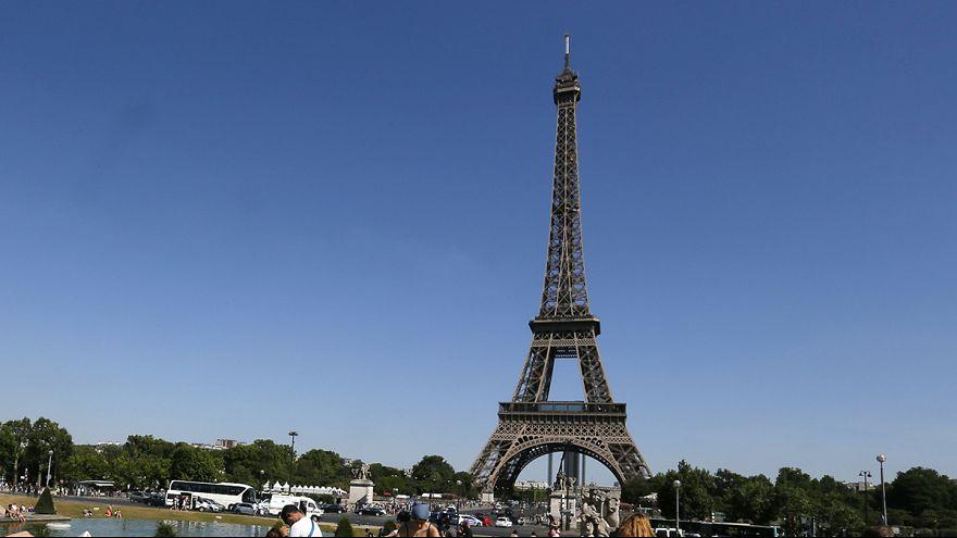 Torre Eiffel em greve