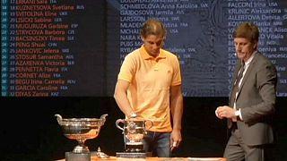 قرعه کشی مسابقات تنیس آزاد فرانسه انجام شد