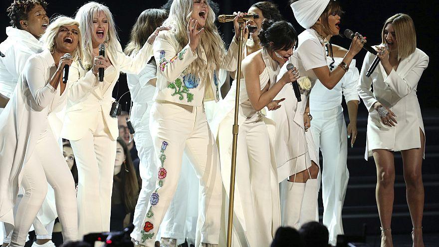 Image: Kesha at Grammy Awards