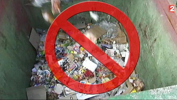Franciaország: törvény tiltja az étel pazarlását