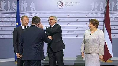 'The dictator is coming' - Juncker's cheeky welcome for Hungarian PM