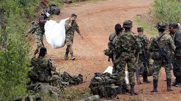 Kolombiya'da hükümetin operasyonu sonrası FARC ateşkesi rafa kaldırdı
