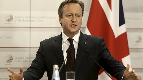 David Cameron insiste en Riga en su plan de renegociación con la UE