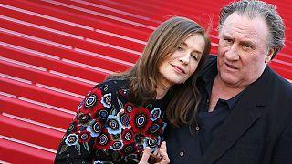 Cannes 10e jour : Gérard Depardieu, Isabelle Huppert et Hou Hsiao-hsien sur le tapis rouge