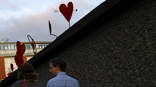 Ireland waits for results in gay marriage referendum