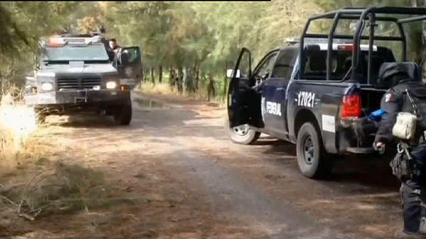 В Мексике уничтожены 42 члена наркокартеля