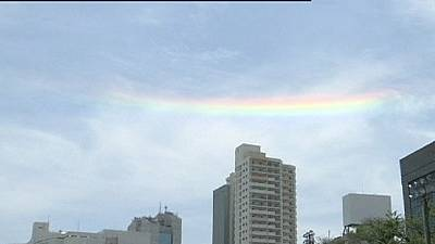 Strange rainbow in Japan – nocomment