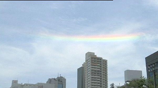 Ιαπωνία: Το ανάποδο ουράνιο τόξο!