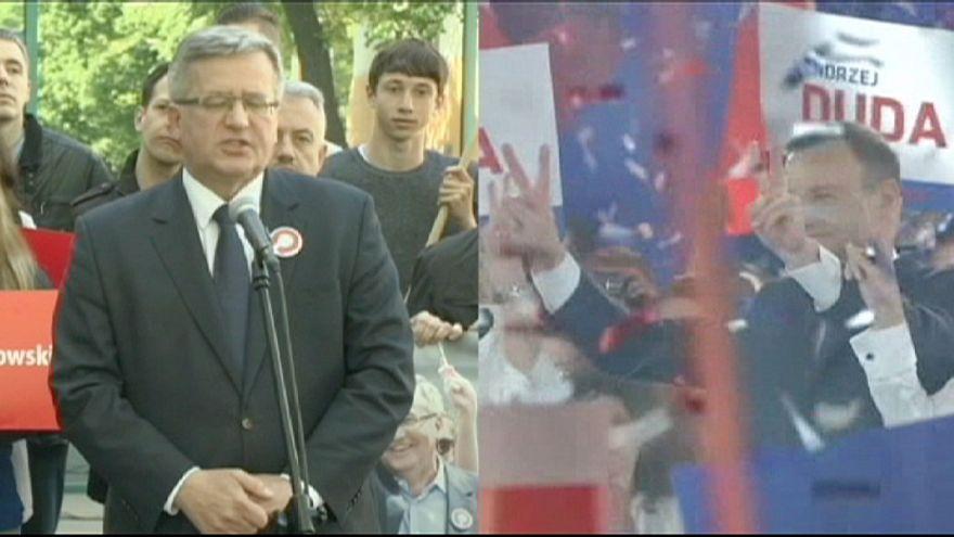 Komorowski y Duda se disputan este domingo la presidencia de Polonia