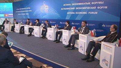 Eurasisches Wirtschaftsforum in Astana