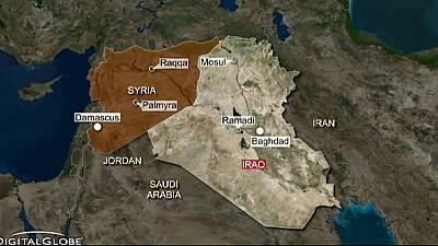 US-led airstrikes and Iraqi militias target ISIL near Ramadi