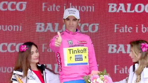 Giro: a Kiryienka la crono trevigiana, Contador scavalca Aru e torna in rosa
