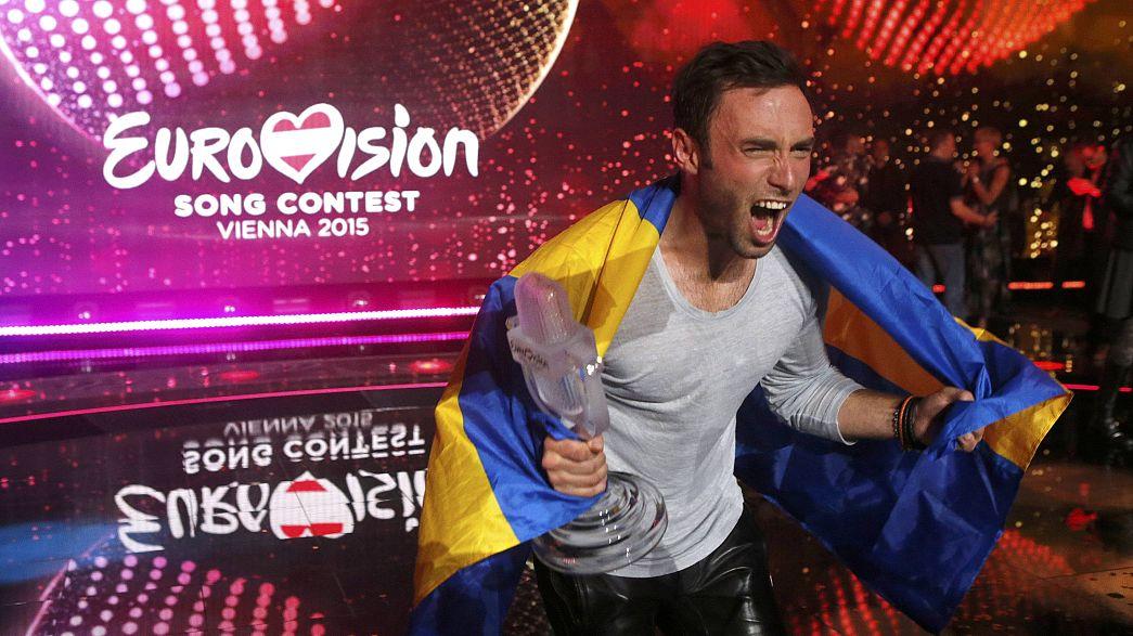Schweden hat den Eurovision Song Contest gewonnen - GER und Austria 0 Punkte