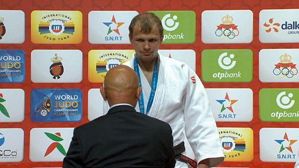 Judo-Gold für Japan, Russland, die Mongolei und die Ukraine