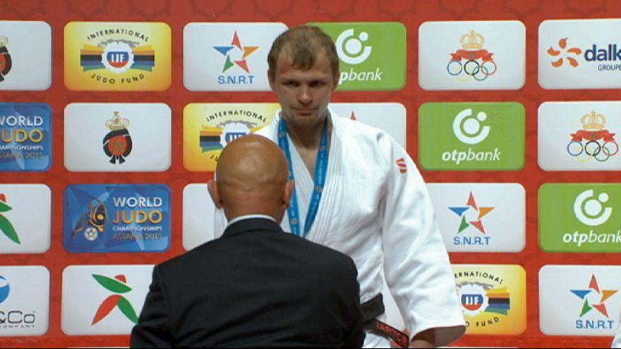 Munkhbat takes gold at the World Judo Masters