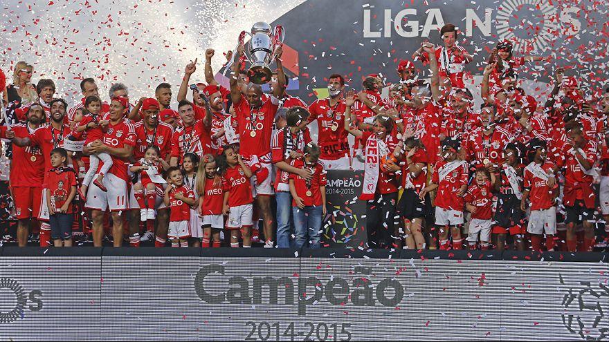 Liga portuguesa, J34: Não faltaram golos na festa do Benfica mas os de Jonas não chegaram