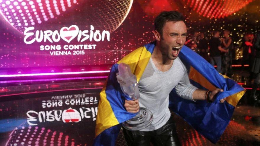 Победу на «Евровидении» одержал шведский певец Монс Зелмерлёв