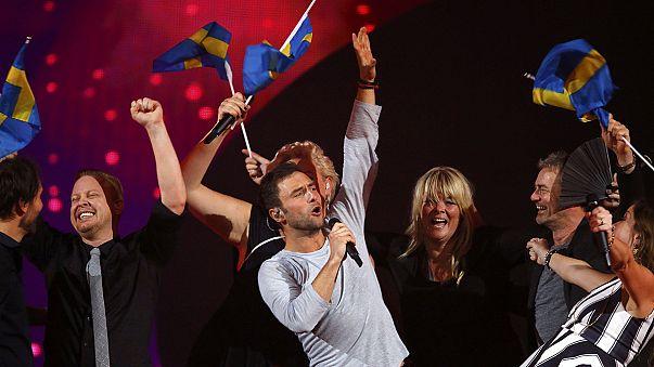 Eurovisión desde la sala de prensa